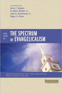 Image of Four views on the spectrum evangelicalism